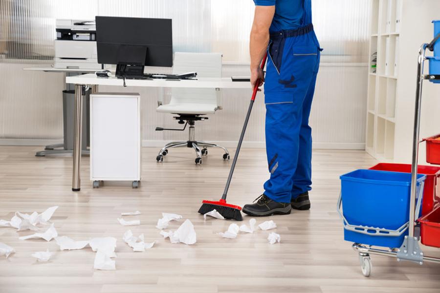 Die Büroreinigung duch ART Clean sorgt für saubere, angenehme Arbeitsplätze